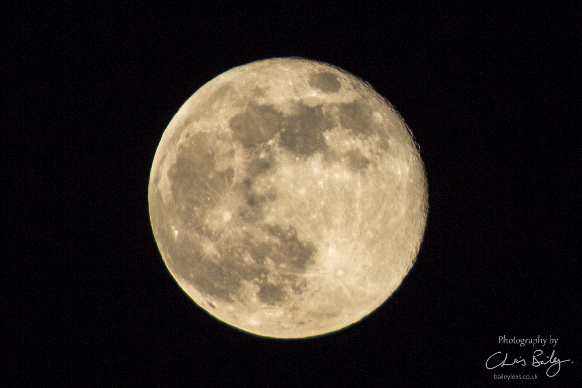Not so pink, Pink Moon!